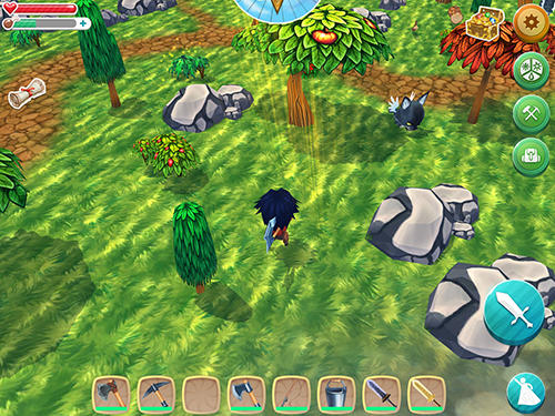 Chibi survivor: Weather lord. Survival island series for Android