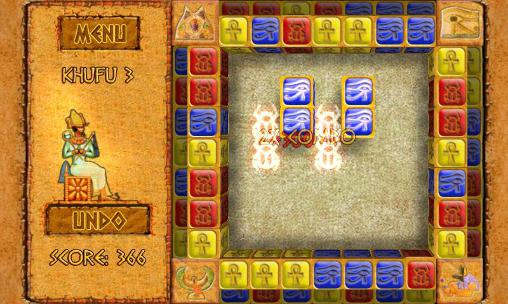 Brickshooter Egypt: Mysteries Screenshot