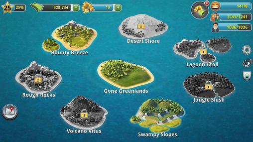 Strategiespiele City island 3: Building sim für das Smartphone