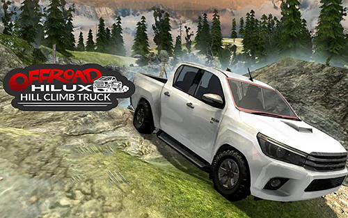 Hilux offroad hill climb truck Symbol
