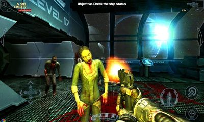Zombie shooter games Dead effect in English