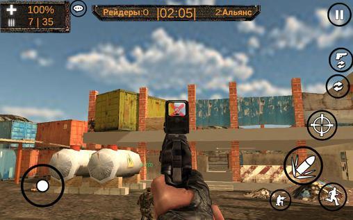 Actionspiele Shadow of nuclear war für das Smartphone