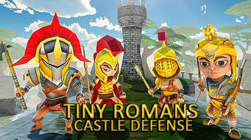 Tiny romans castle defense: Archery games Symbol
