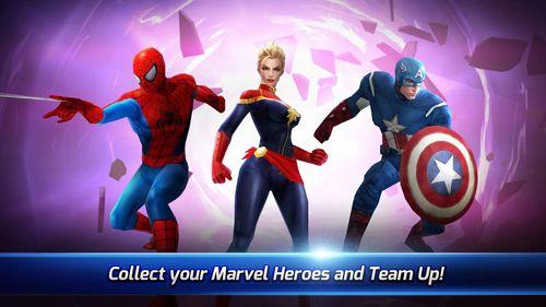 Screenshot Marvel: Kampf der Zukunft auf dem iPhone