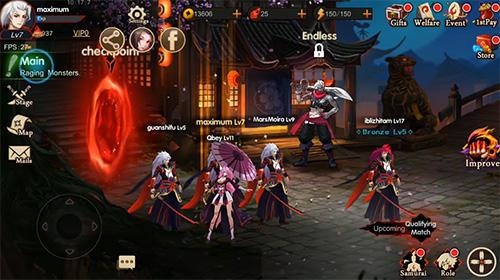 Samurai legends para Android