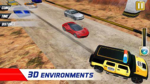 Rennspiele Extreme police car racer für das Smartphone