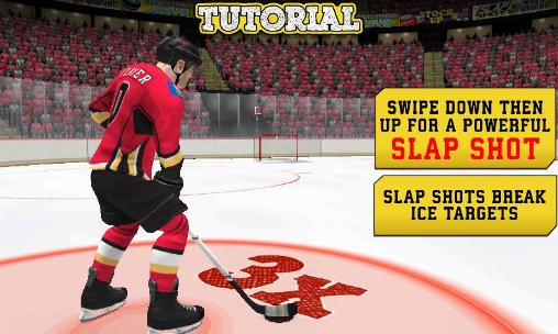 NHL hockey: Target smash auf Deutsch
