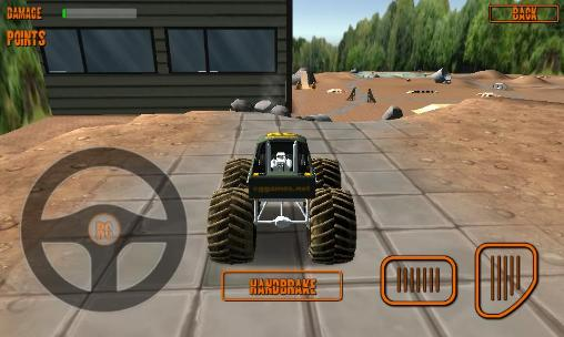 Racing games RC monster truck for smartphone