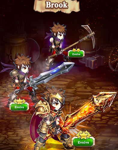 RPG Brave frontier: The last summoner for smartphone