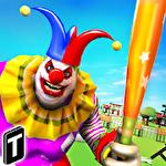 Creepy clown attack Symbol
