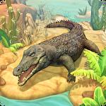 Crocodile family sim: Online icon