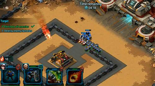 Online Doom blitz: War strategy für das Smartphone