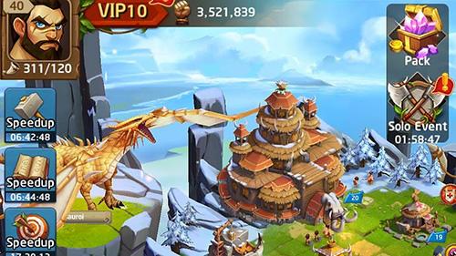 Online Primal wars: Dino age for smartphone