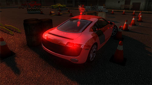 Simulation Real car parking 2018 für das Smartphone