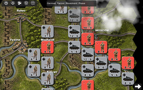 Strategy Operation Typhoon: Wargame for smartphone