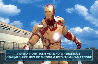 Action: Lade Iron Man 3 - Das offizielle Spiel auf dein Handy herunter