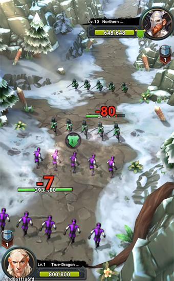 Onlinespiele Siege of thrones für das Smartphone