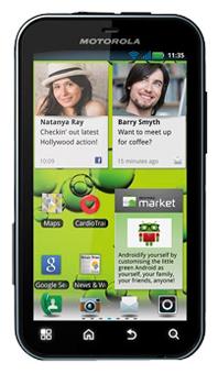Motorola Defy+ apps