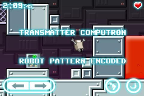 Screenshot Roboter sucht eine Katze auf dem iPhone