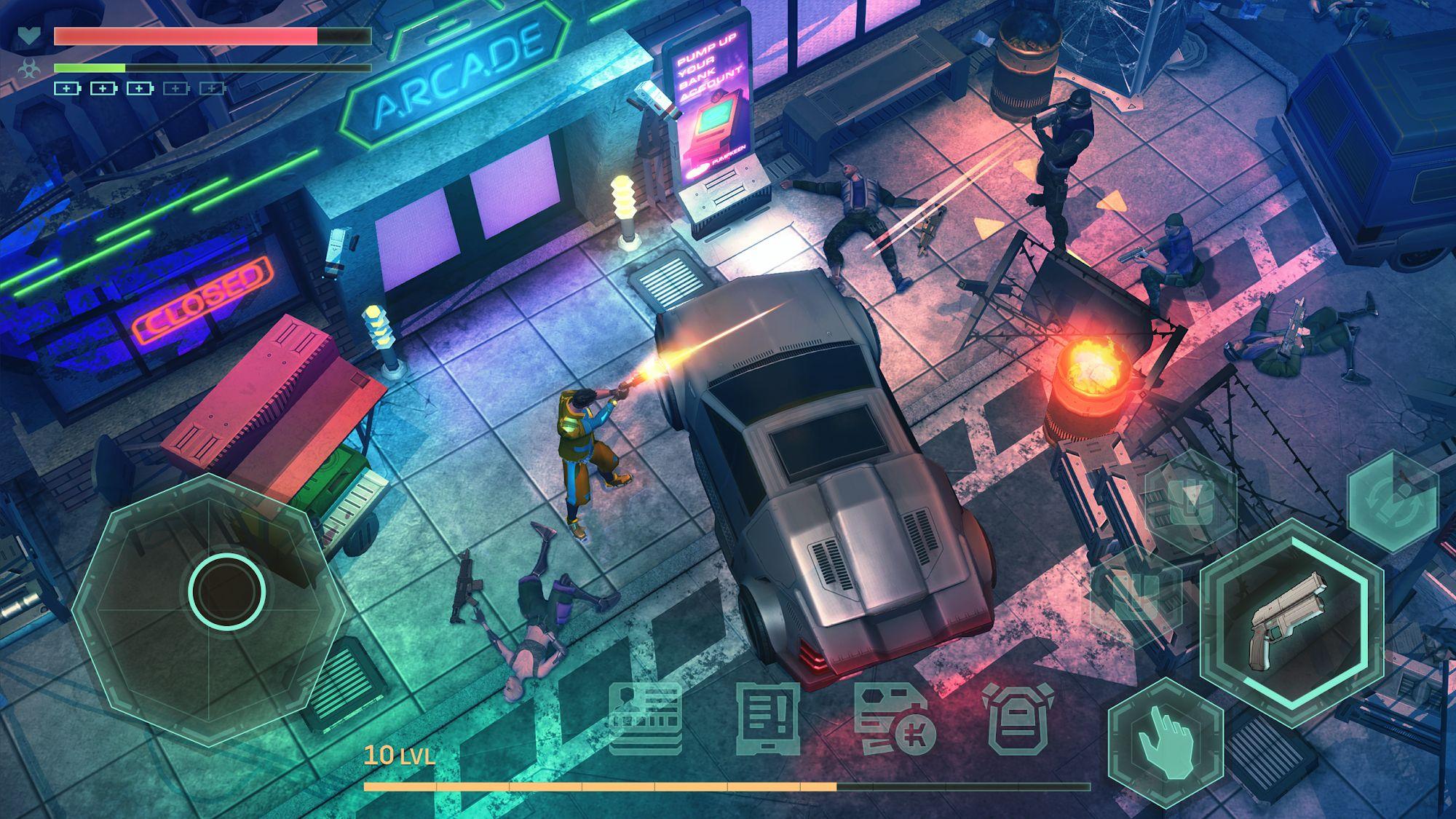 Cyberika: Киберпанк RPG скриншот 1