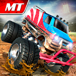 Monster truck arena driver icono