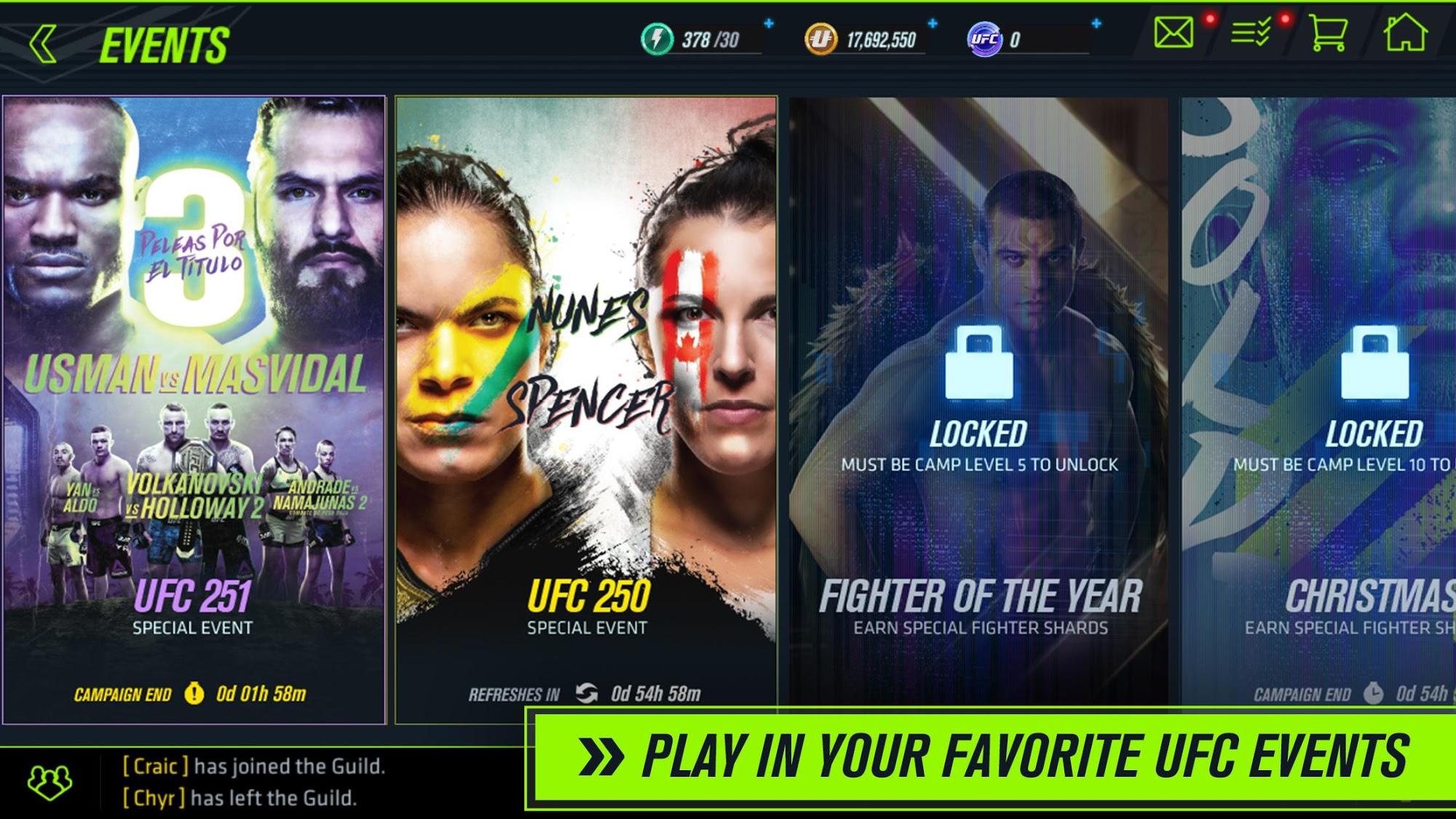 UFC 2 Mobile captura de tela 1