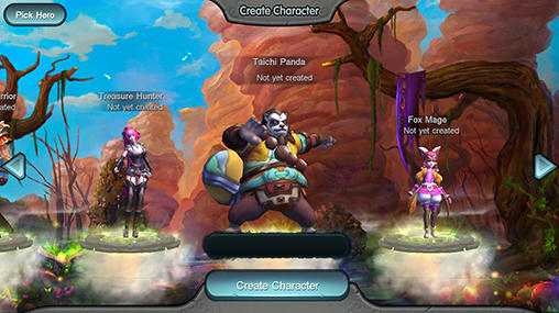 RPG Tai chi panda für das Smartphone