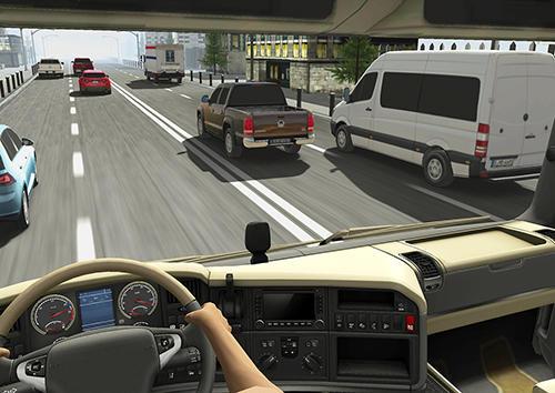 de courses Truck racer pour smartphone