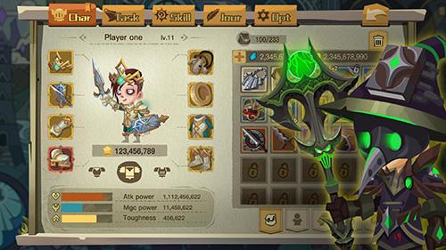 RPG The greedy cave 2: Time gate für das Smartphone