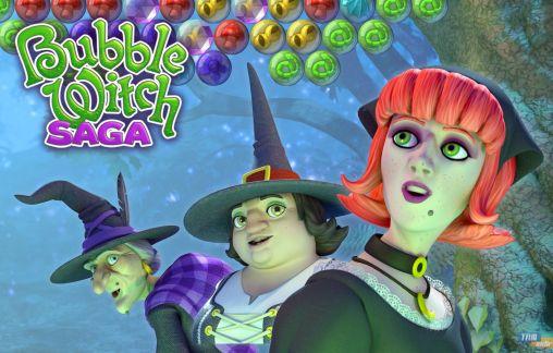 Bubble witch saga captura de pantalla 1