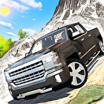 Offroad pickup truck S icono