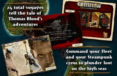 Strategy games: download Crimson: Steam Pirates to your phone
