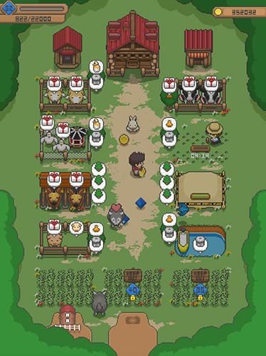 Farm games Tiny pixel farm in English