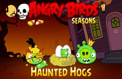 logo Angry Birds Seasons: Haunted hogs