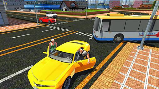 Games like GTA Crime city gangster in English