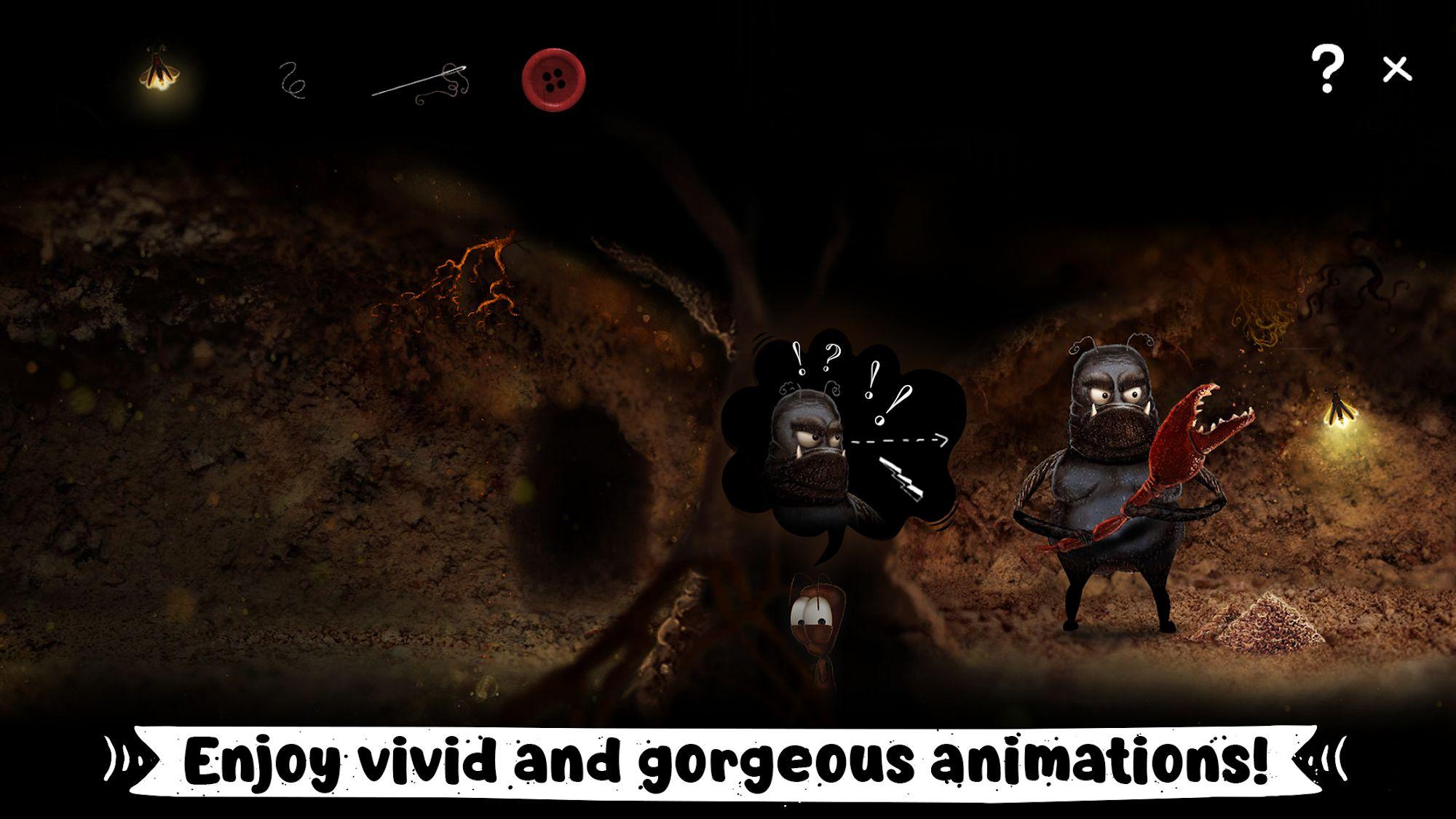 AntVentor: Point and Click puzzle adventure capture d'écran 1
