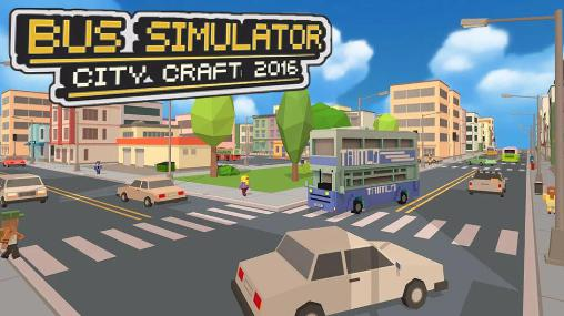 Bus simulator: City craft 2016 Screenshot