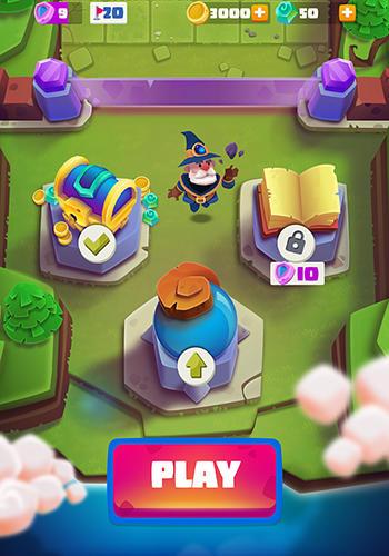 Arcade-Spiele Bounzy! für das Smartphone
