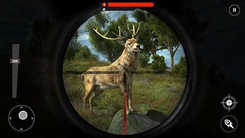 Wild animal jungle hunt: Forest sniper hunter für Android