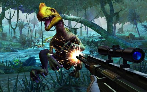 Dino hunter: Deadly shores para Android