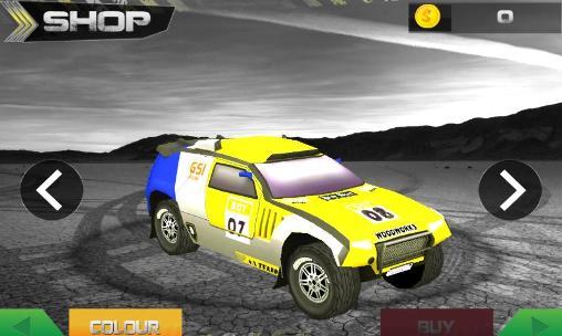 Rennspiele Fast rally racer: Drift 3D für das Smartphone
