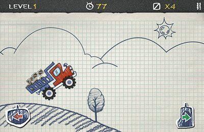 Doodle Truck in Russian