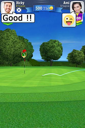 在线 Golf clash: Quick-fire golf duels智能手机