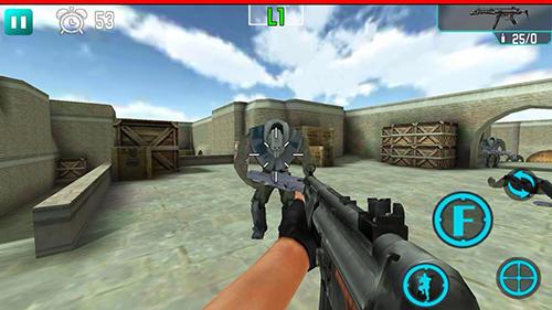 Action Gun striker fire für das Smartphone