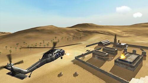 Simulateur de l'hélicoptère