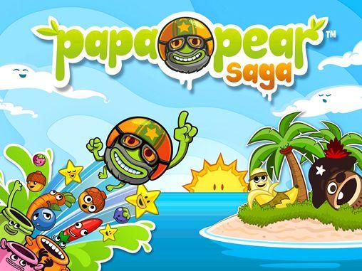 logo Papa Pear: Saga