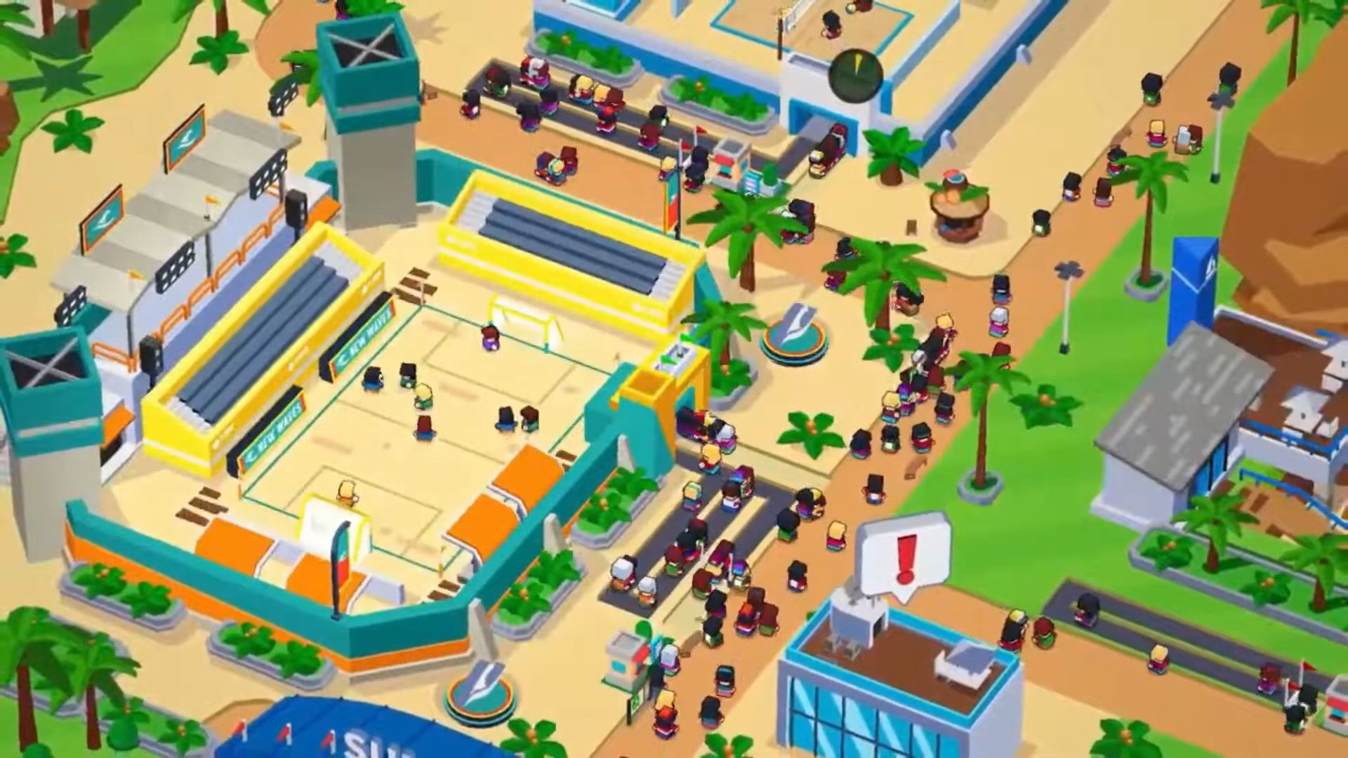 Sports City Tycoon - Idle Sports Games Simulator screenshot 1