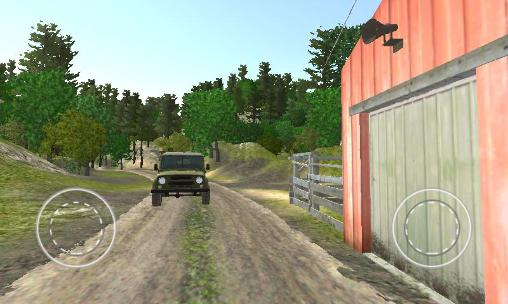 4x4 SUVs in the backwoods pour Android