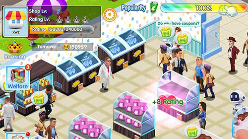 My supermarket story: Store tycoon simulation für Android