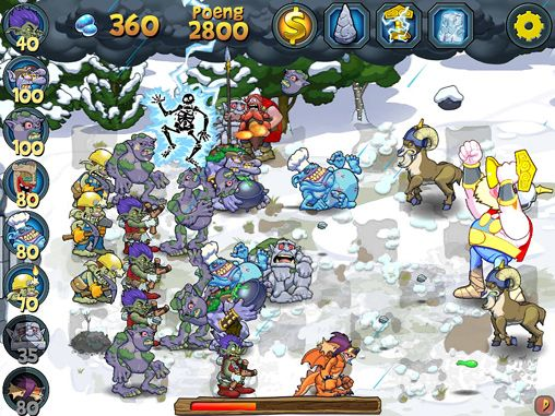 Strategy games: download Trolls vs. vikings to your phone
